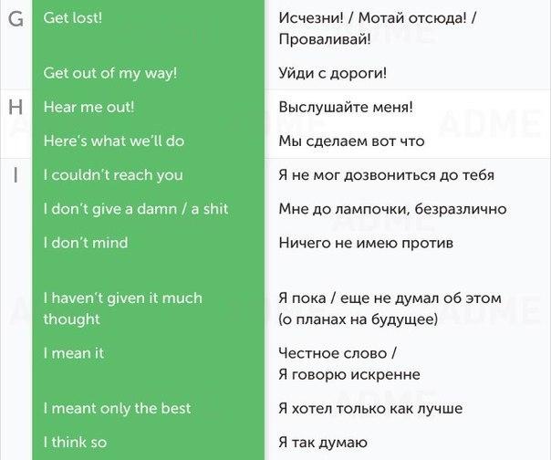 50 разговорных фраз для общения на английском2