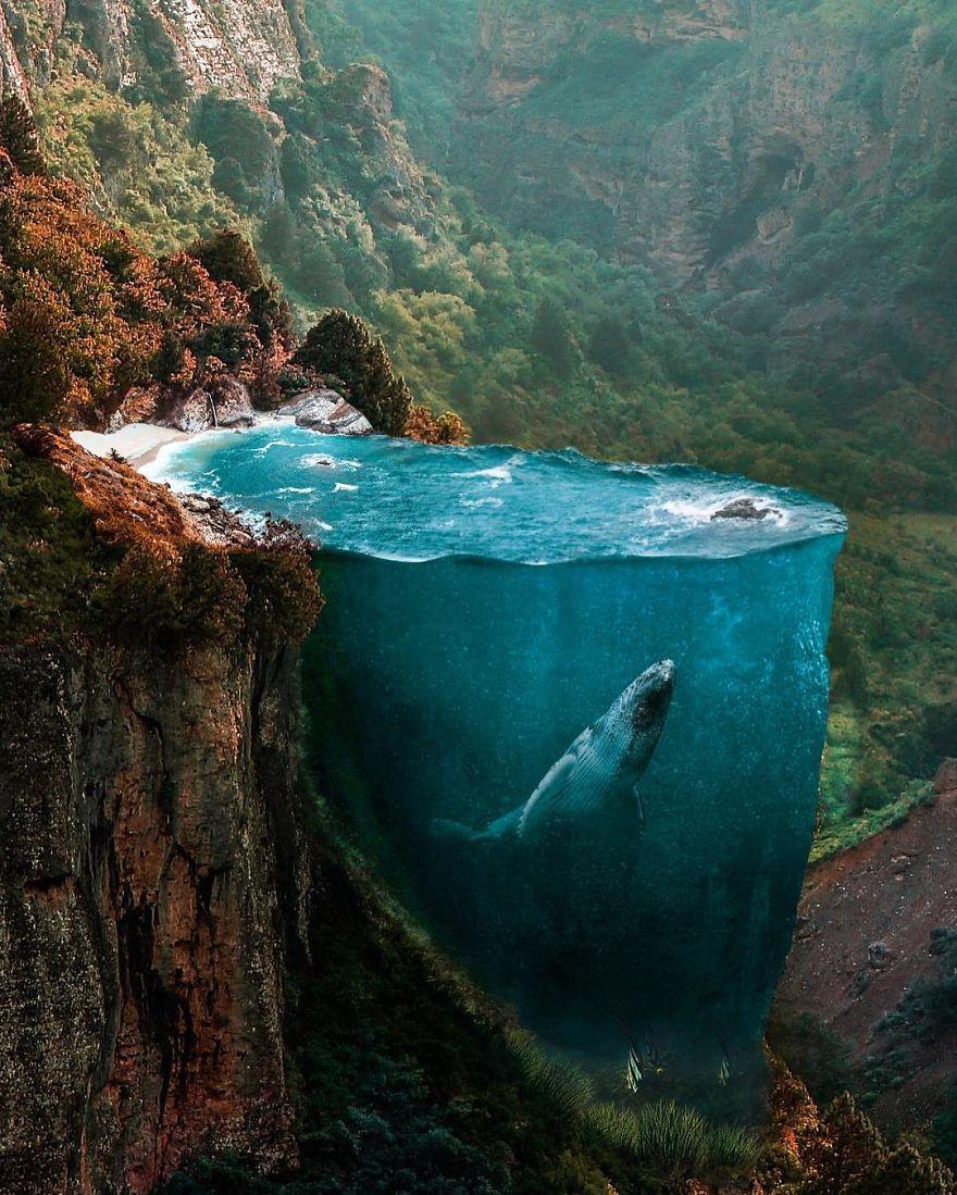 Если бы вы могли фотографировать свои мечты, то это выглядело бы примерно как работы турецкого художника Хусейна Шахина