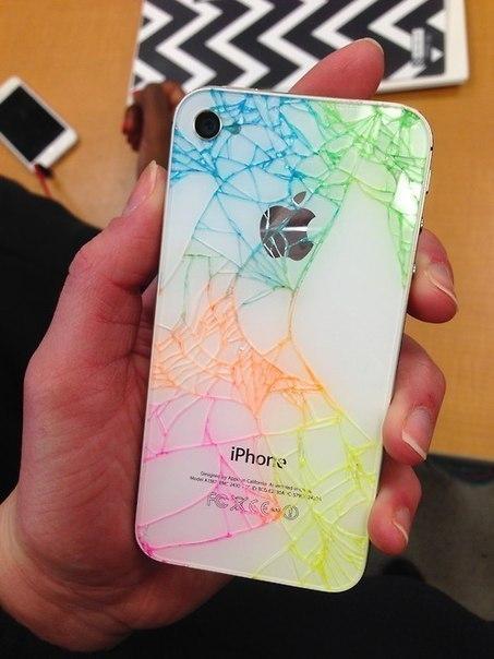 Идея для разбитого iPhone
