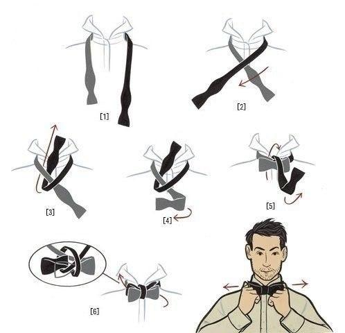 Как завязать бабочку