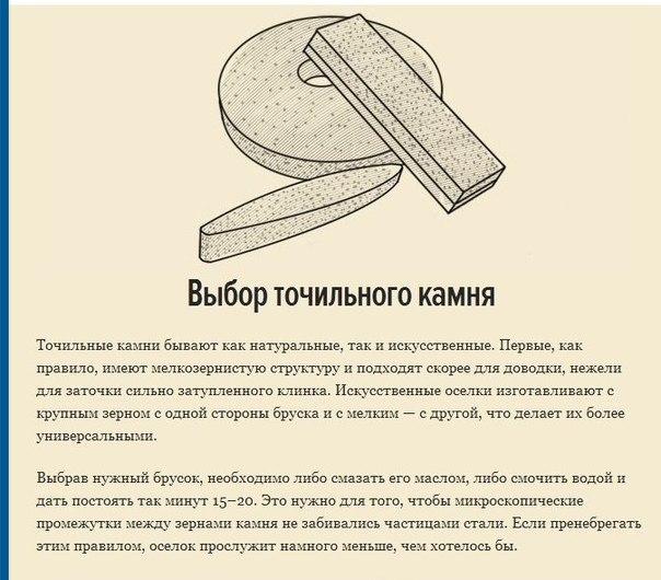 Как правильно точить ножи2