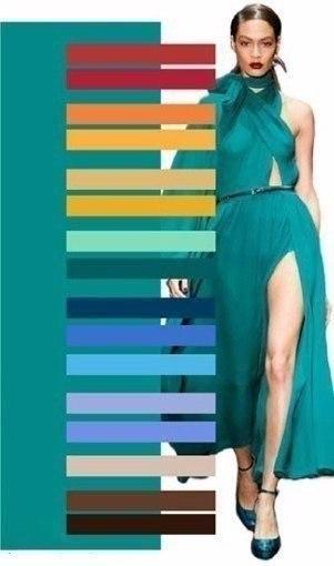 Правильное сочетание цветов7