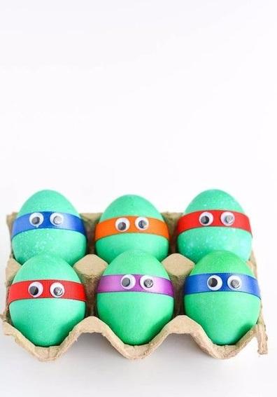 Гениальные в своей простоте пасхальные яйца