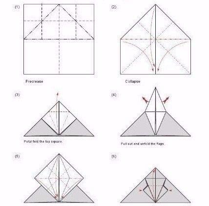 Летучая мышь оригами - Самый полезный журнал