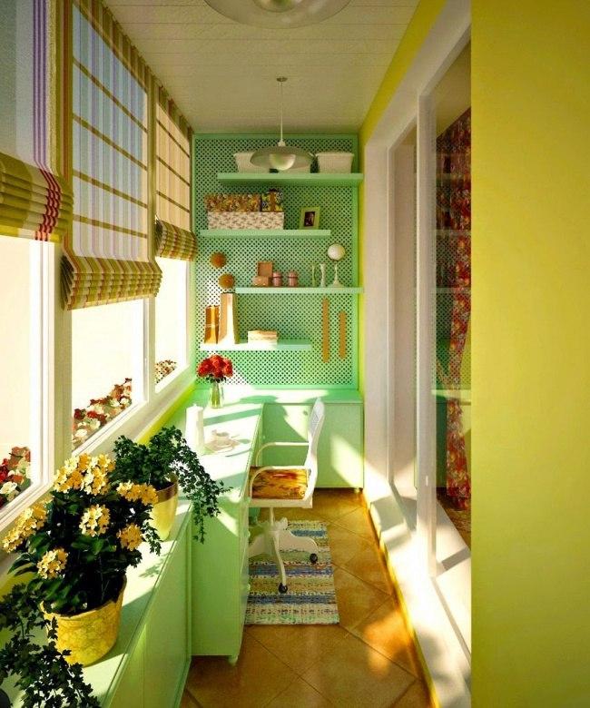 10 крутых идей для вашего балкона10
