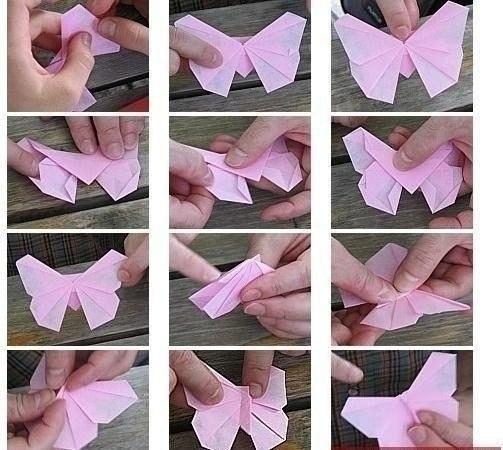 Бабочка оригами5