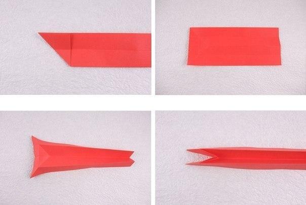 Кошечка оригами3