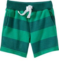 striped-terry-shorts-for-baby-rugby-green