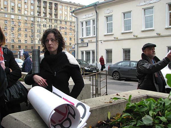 """Журналист радио """"Свобода"""" Кристина Горелик"""