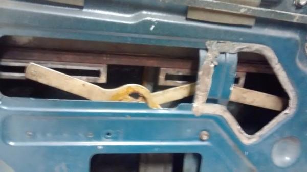 Regulator mechanism installed