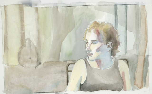 portrait of Molly