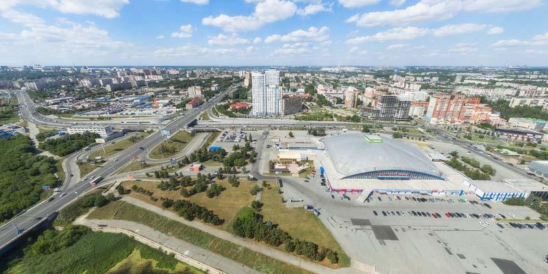 Челябинск с высоты