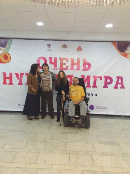 Маленький уголок счастья, организованный Союзом Добровольцев России