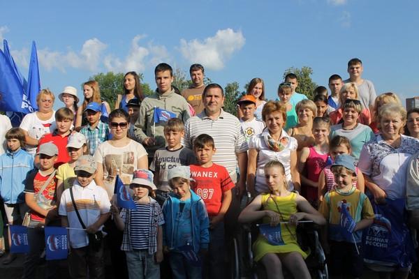 Союз Добровольцев России провели праздник для особенных детей