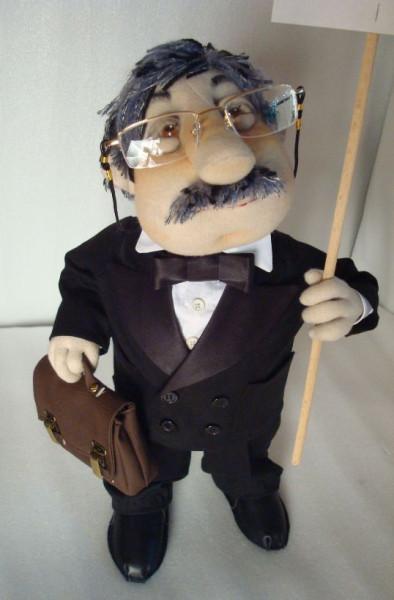 Изготовление кукол-шаржей - Креативные авторские игрушки