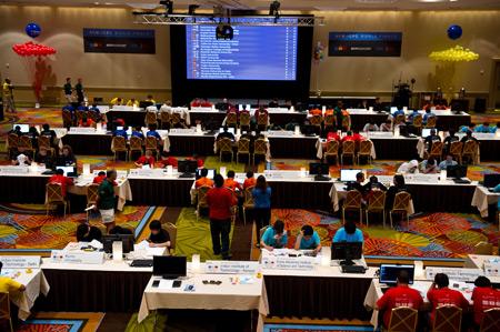 Панорама места проведения соревнований