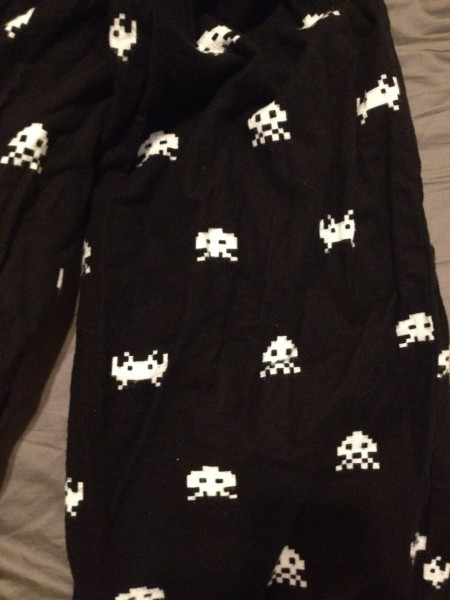 space invaders pjs