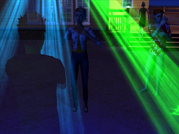 Dina, hologram back
