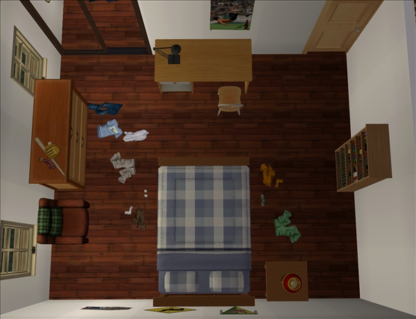 Mike's room
