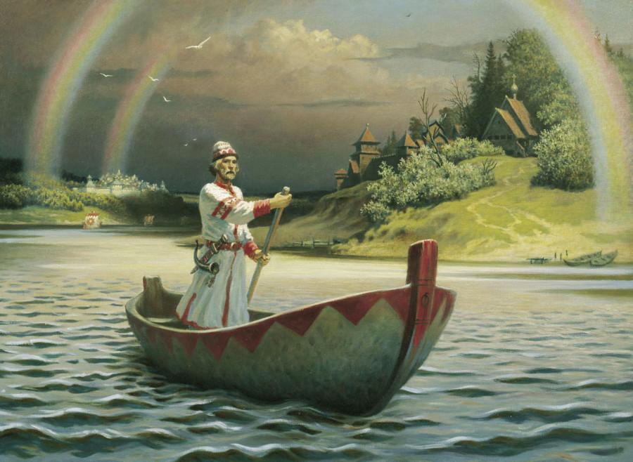 от берегов отчаяния ее лодка отчалит