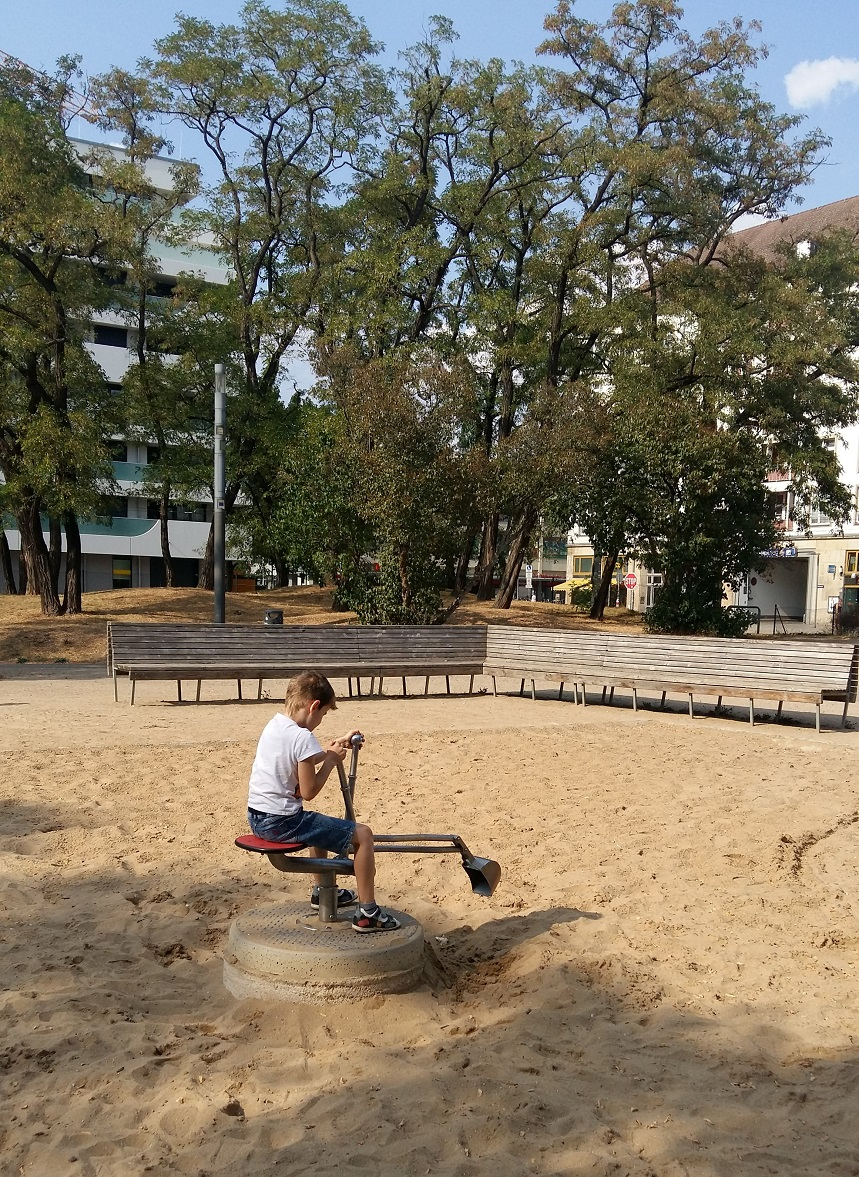 An example to follow is simple, a playground, for children, could, for playgrounds, it's quite possible, for example, to understand such things that cannot, everywhere, different, soft, climb, somewhere, street, city, center, many