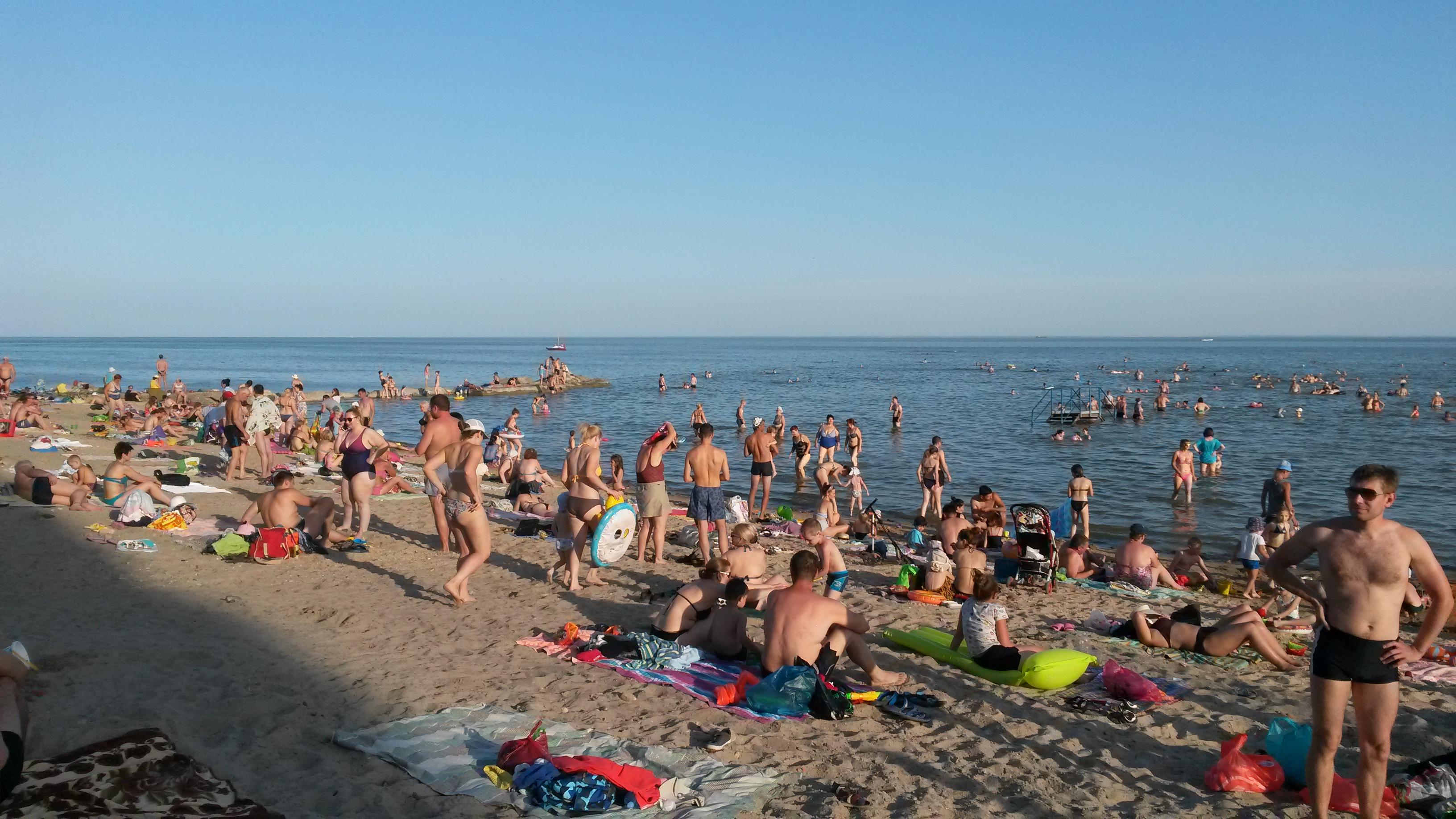 Лето, Солнце, пляж