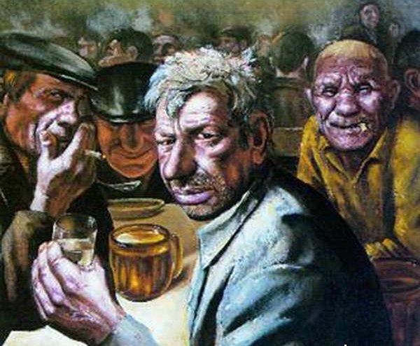 По старым таганрогским пивнякам. Местечковое