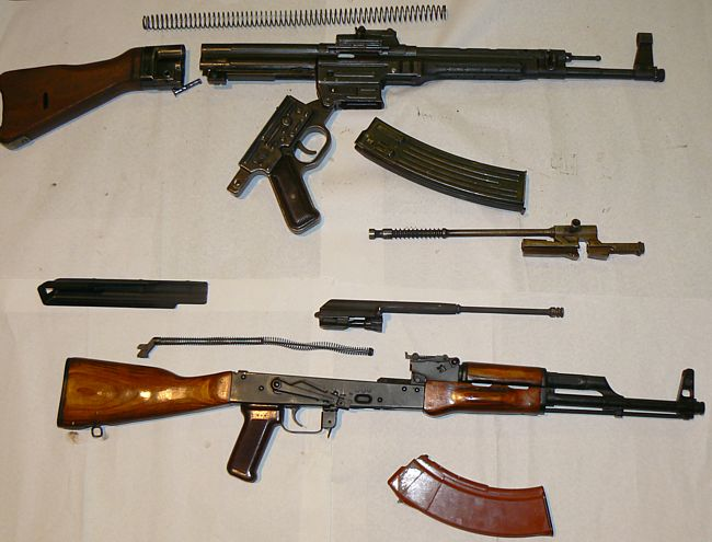 на год раньше АК-47