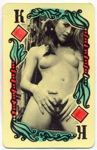 Порнографические игральные карты 58384 фотография