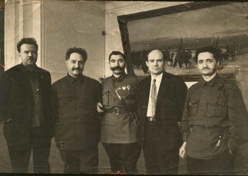 rukovodОрджоникидзе, Буденный, Пятаков, Лакоба.