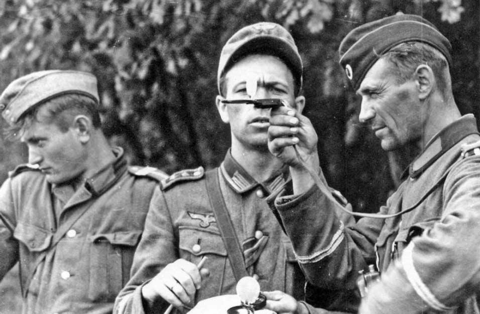 Власовцы в районе Курска 1943 г.