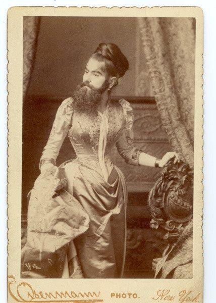 Бородатая женщина Энни Джонс 1860-1902