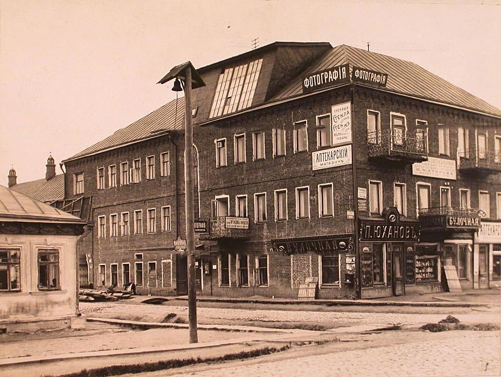 6Вид фасада здания купца И.М. Егорова