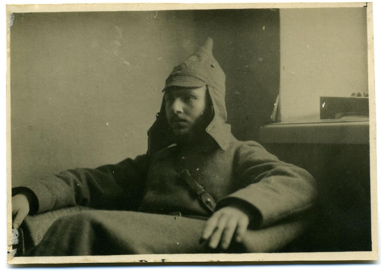 Один из командиров полков НРА