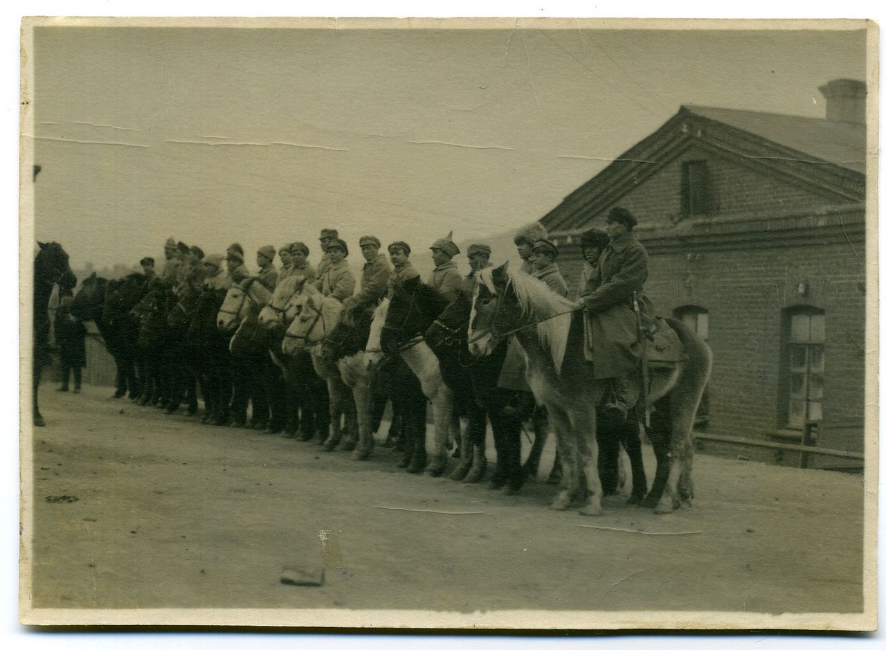 Кавалерийский отряд НРА ДВР