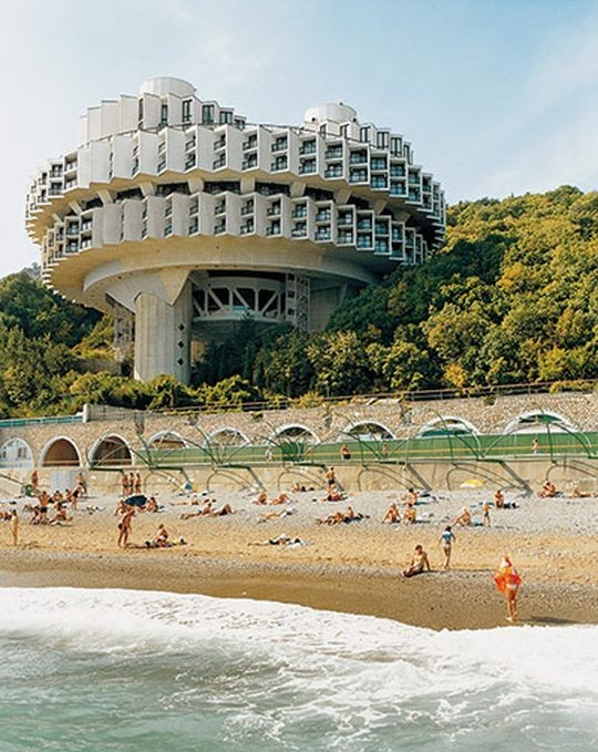 Пансионат «Дружба» (Ялта, Украина, построен в 1984 году