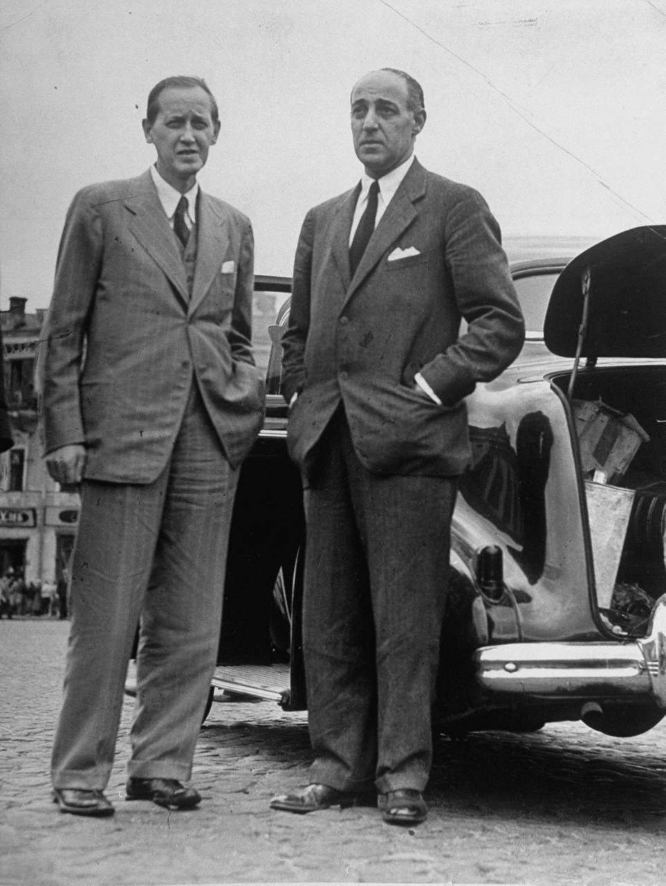 86Гарри Хопкинс и посол США. Лоуренс Стейнхардт.