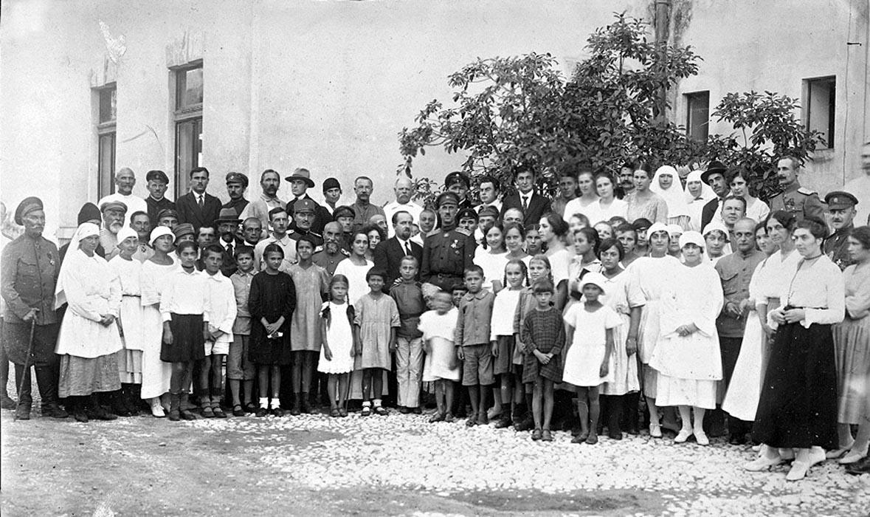 28Детский приют Красного Креста. Сентябрь 1922 г.