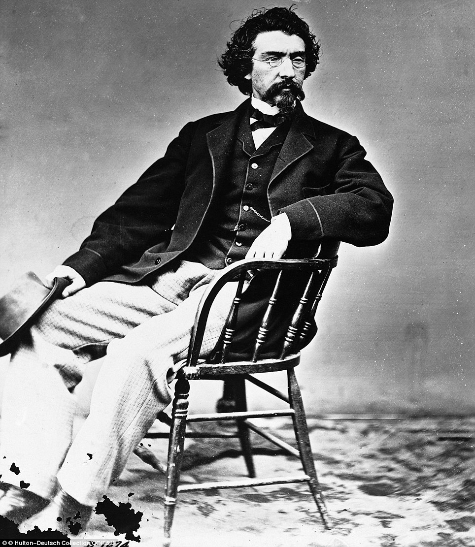 Photographer Mathew Brady became a successful and sought after photographer for the country's presidents and colonels