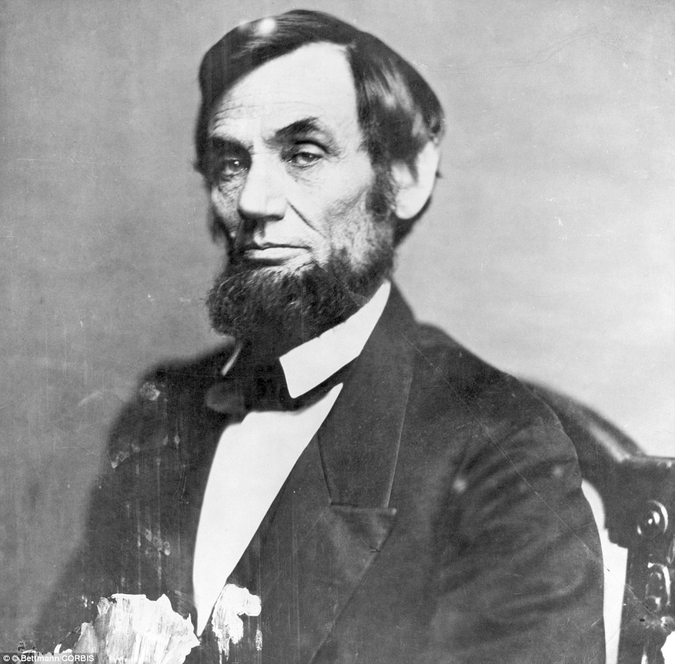 1862 photograph of U.S. President Abraham Lincoln by Mathew Brady