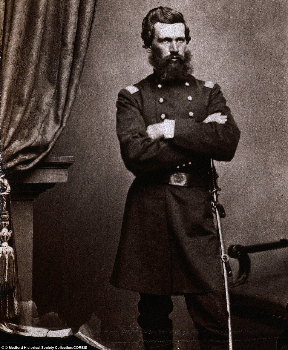 Colonel Oliver O. Howard, a Federal officer who won the Medal of Honor for his bravery during the Battle of Seven Pines in 1862