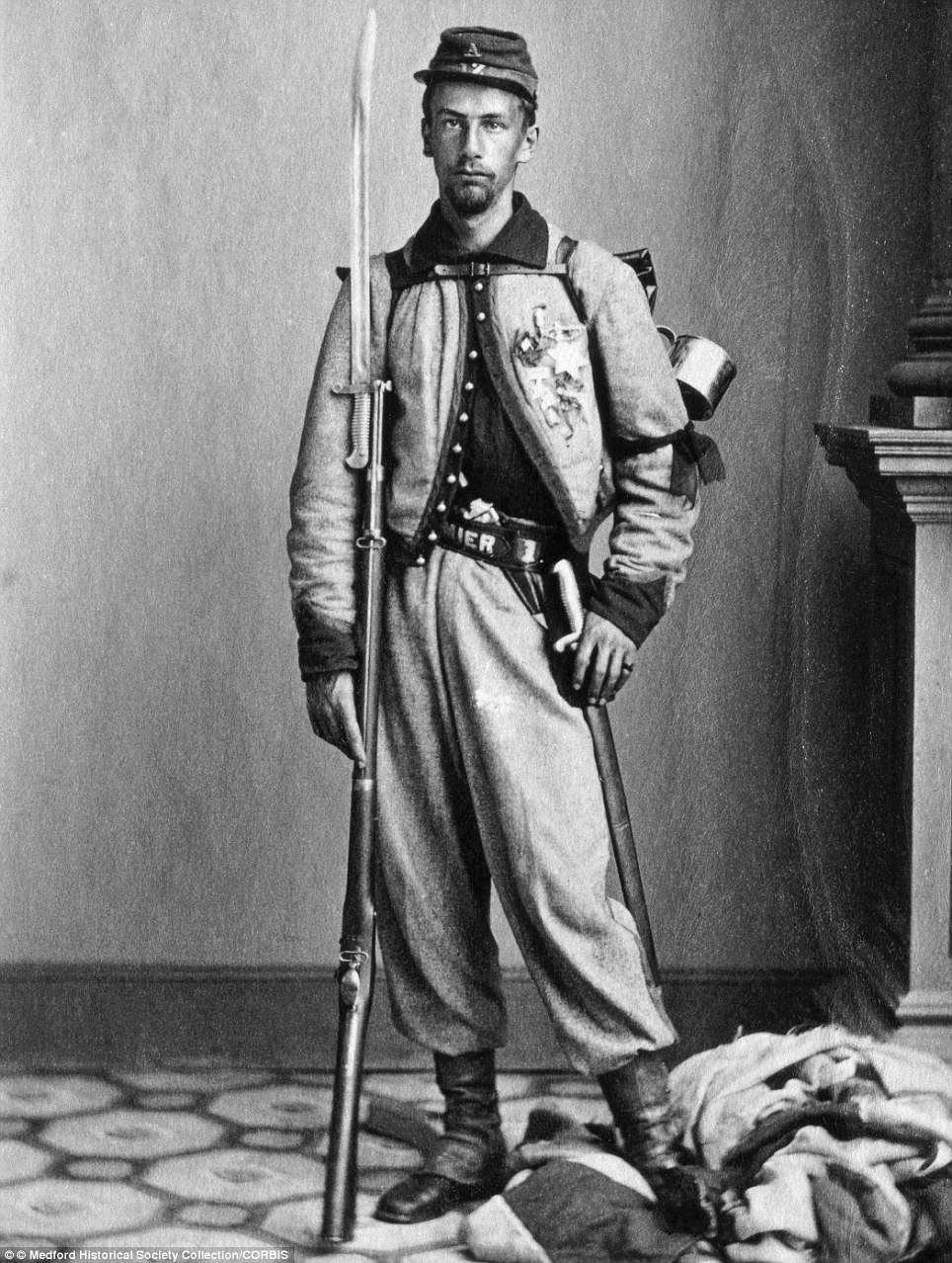 Sergeant Francis Edwin Brownell, an enlisted man in Elmer Ellsworth's New York Fire Zouaves - who witnessed Ellsworth's death and immediately killed the assailant