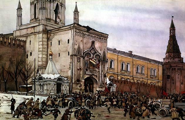Стены древнего Кремля...