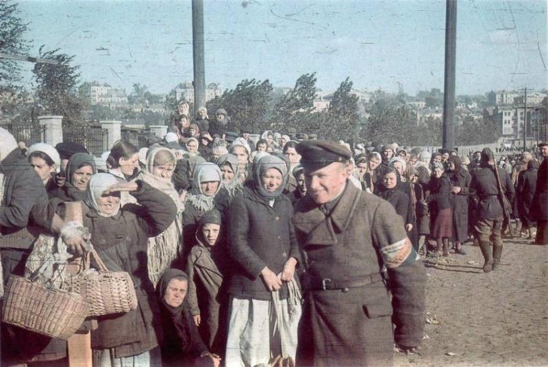 Украина в период оккупации babiyar-14