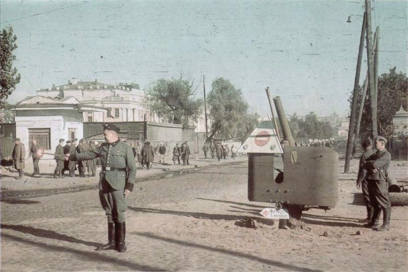 Украина в период оккупации babiyar-15