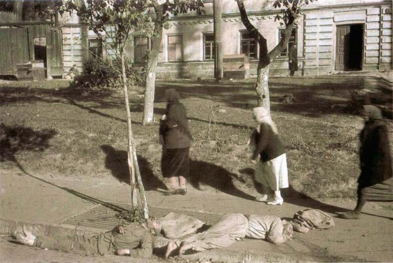Украина в период оккупации babiyar-17