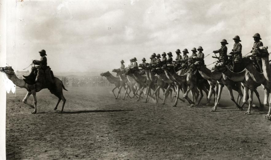 Английская кавалерия в Сомали, 1913.