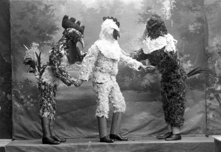 Праздник Марди Гра, Ден Бош, Нидерланды, 1911.