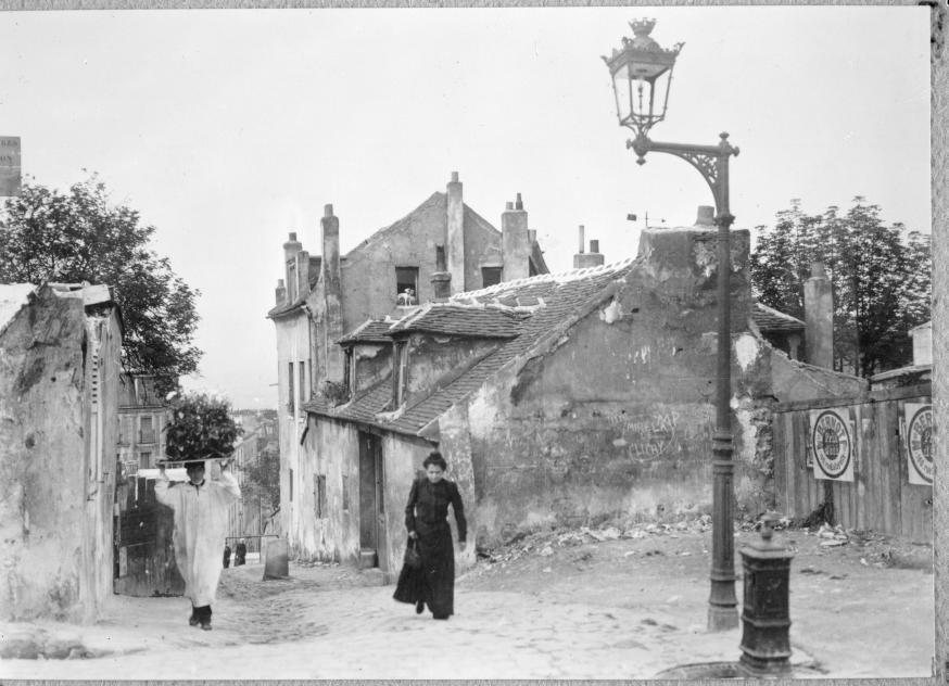 Трущобы Парижа, 1900.