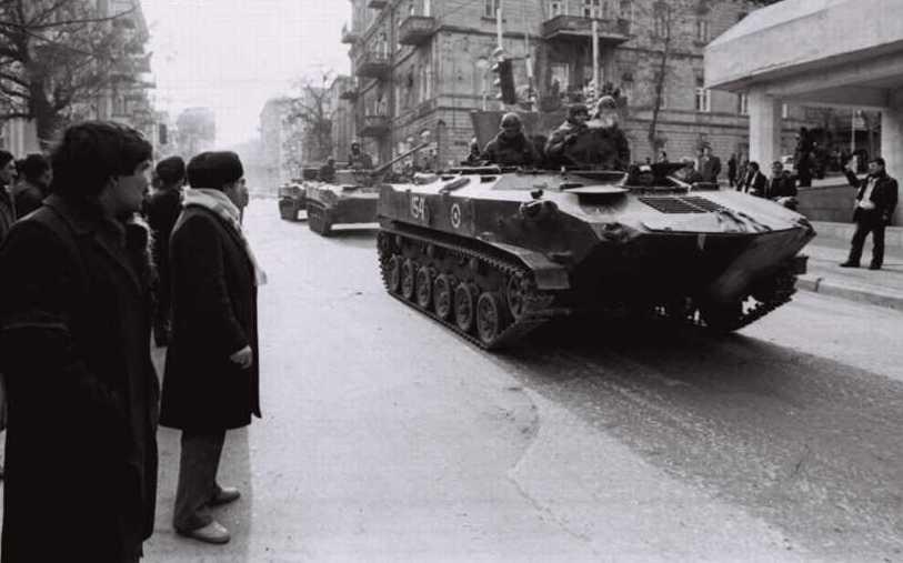 Баку,  26 лет назад.